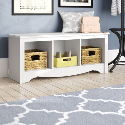 Hayman Storage Bench Color: White