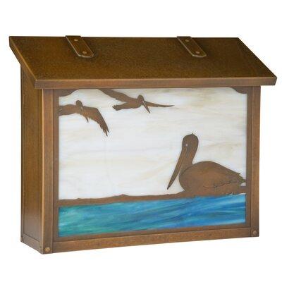 Pelican Wall Mounted Mailbox AF-1733-WB-GI