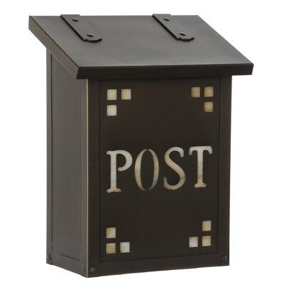 Pasadena Wall Mounted Mailbox AF-21-POST-BZ-HN