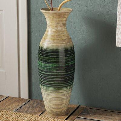 Hefley Floor Vase Color: Light Teal