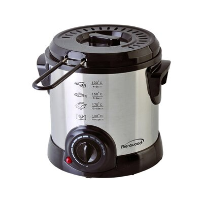 DF-701 Electric Deep Fryer, 1-Litre, Stainless Steel DF701