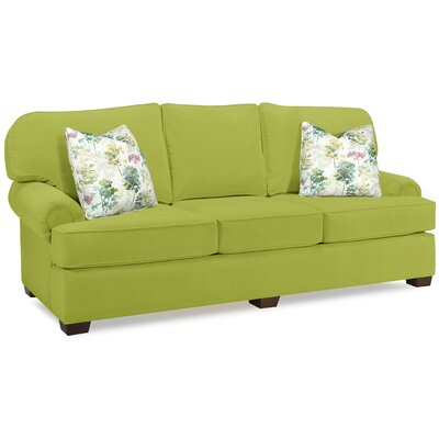 Estevez Sofa Upholstery Color: Apple