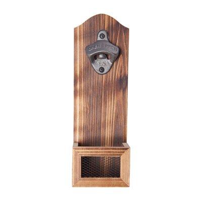 Barr Wood Bottle Opener Wire Mesh B9B7466A8C39400A9B05B081696D0CA0