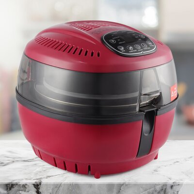 10 Quart Digital Oil Less Air Fryer 048-GM-48329-RD
