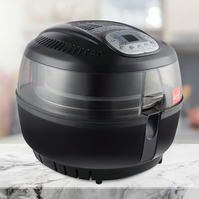 10 Quart Digital Oil Less Air Fryer 048-GM-48329-BK