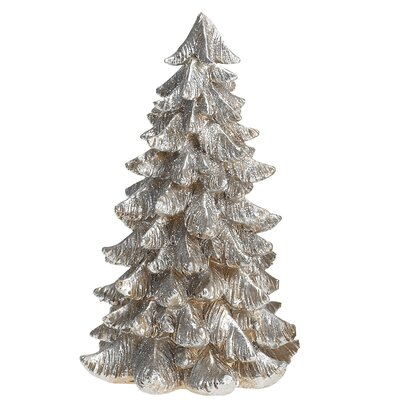 Desmond Small Resin Silver & Gold Tree Figurine