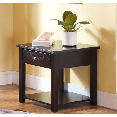 Nagle End Table With Storage