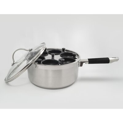 Professional 6 Cup Stainless Egg Poacher 535