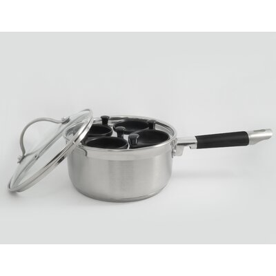 Professional 4 Cup Stainless Egg Poacher 533A