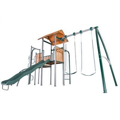Big Ridge Heavy Duty Metal Swing Set