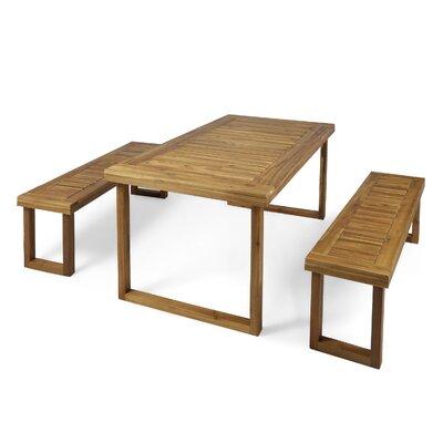 Kampmann Outdoor 3 Piece Dining Set