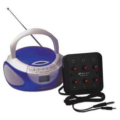 Six-Station Listening Centre/Boombox APLSL1014