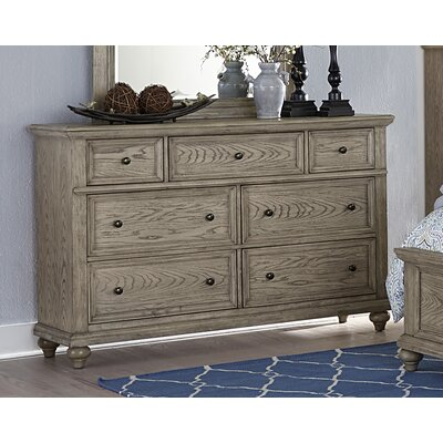 Reeder 7 Drawers Double Dresser