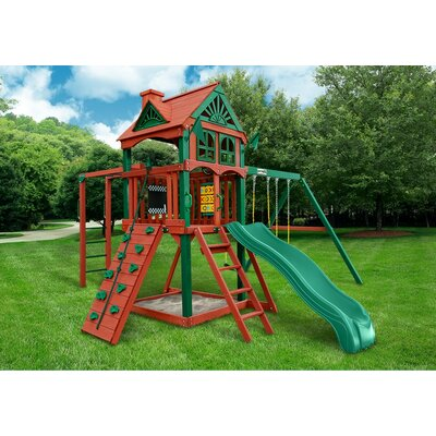 Five Star II Cedar Swing Set