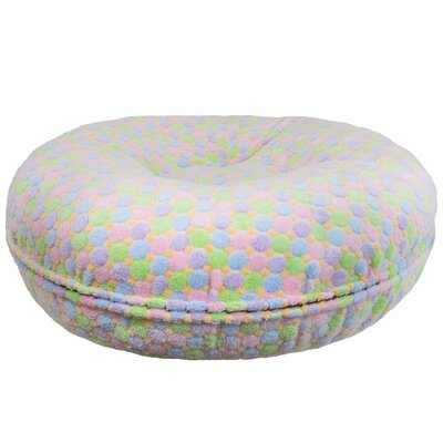 "Image of Ankney Bagel Bed Pillow/Classic Size: Medium (36"" W x 36"" D x 10"" H)"