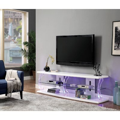 Entertainment Furniture Store Mikhail Wooden Frame 60 Inch Tv