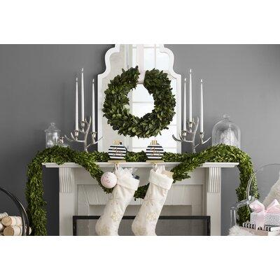 Preserved Laurel Wreath Size: 21