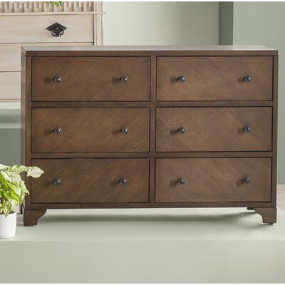 Naylor 6 Drawers Double Dresser