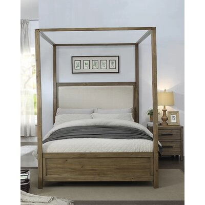 Atchison Upholstered Canopy Bed