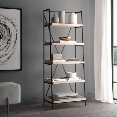 Sherry Mid Century Etagere Bookcase