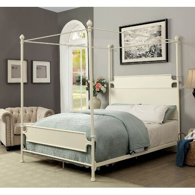 Kratochvil Metal Canopy Bed