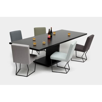 """20:20 Solid Wood Dining Table Size: 30"""" H X 42"""" W X 108"""" L"""