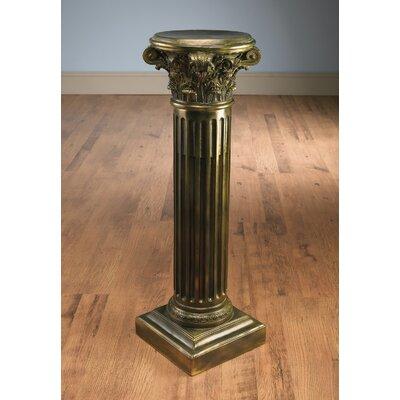 Stgermain Corithian Pedestal Plant Stand