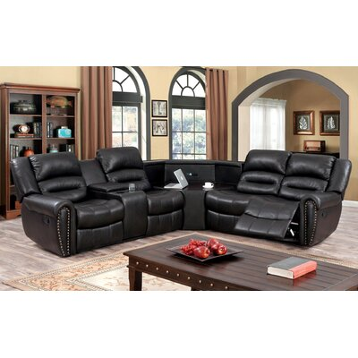 Hokku Designs KUI10196 Ricore Reclining Sectional