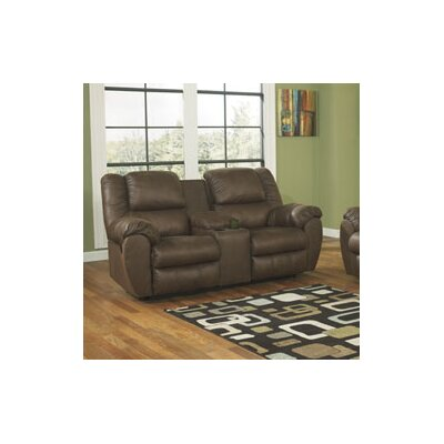 3270194 GNT2900 Signature Design by Ashley Weatherly Double Reclining Loveseat