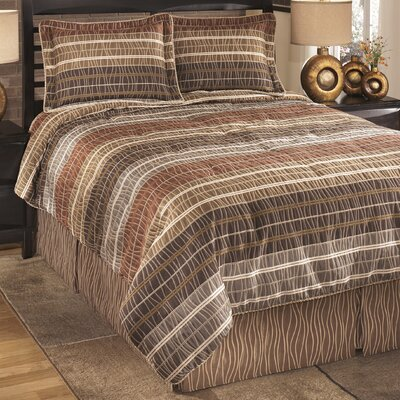 Wavelength Jewel Comforter Set Size: King