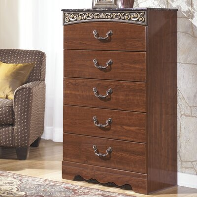 Fairbrooks Estate 5 Drawer Chest