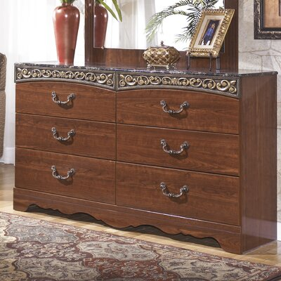 Fairbrooks Estate 6 Drawer Double Dresser