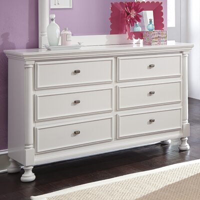 Jeffersonville 6 Drawer Double Dresser