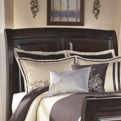 Ridgley Sleigh Headboard Size: King