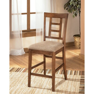 Cross Island Upholstered Barstool