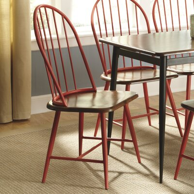 Shanilee Side Chair Finish: Red image