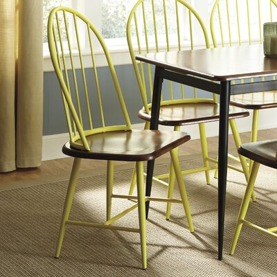 Shanilee Side Chair Finish: Yellow