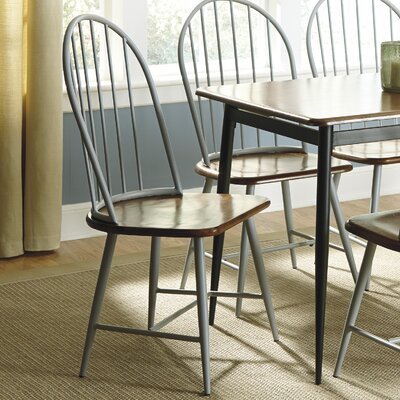 Shanilee Side Chair Finish: Gray image