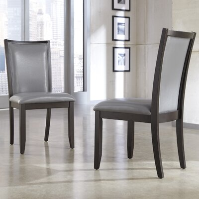 Trishelle Side Chair Upholstery: Gray image