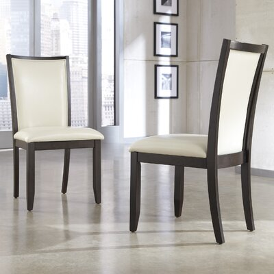 Trishelle Side Chair Upholstery: Ivory