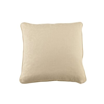 Marcalie Throw Pillow Color: Ecru