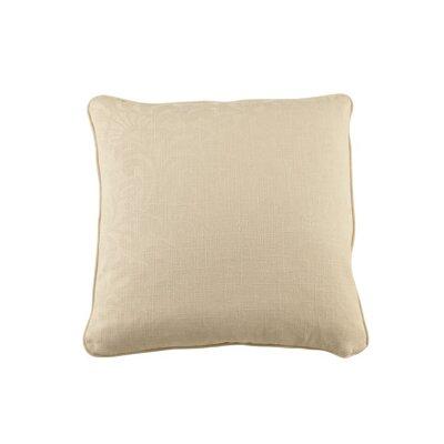 Marcalie Throw Pillow Color: Ecru