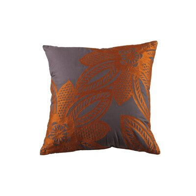 Wyler Throw Pillow Color: Orange