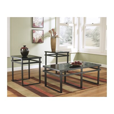 Hailie 3 Piece Coffee Table Set