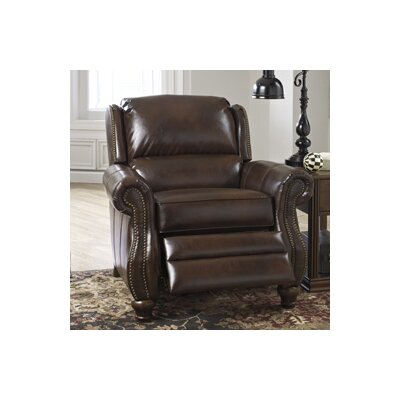 Elberton Durablend� Low Leg Recliner Upholstery: Espresso