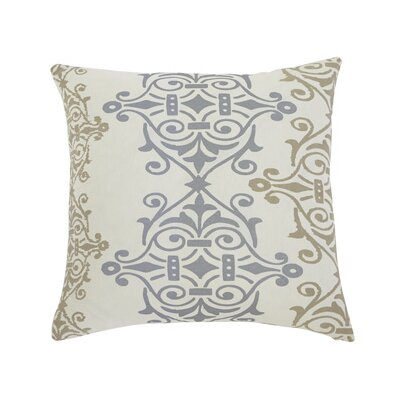 Scroll Pillow Cover Color: Gray / Brown