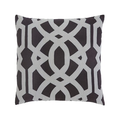 Gate Pillow Cover Color: Charcoal