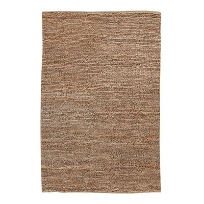 Natural Hand-Woven Brown Area Rug Rug Size: 8' x 11'