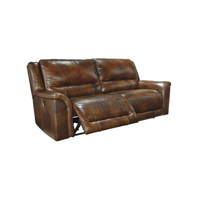 Jayron Reclining Sofa Type: Manual