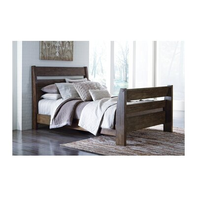 Emerfield Slat Headboard and Footboard Size: King